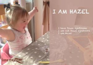 Lose the Label Campaign Hazel